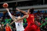 Estados Unidos se lleva medalla de oro en baloncesto femenino