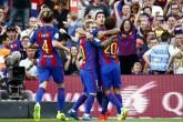 Messi y Luis Suárez arrancan encendidos con el Barsa