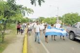 Sanjuaneños exigen liberar a profesora