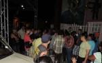 comerciantes del nuevo mercado de Jinotepe  durante su protesta en el Parque Central de la ciudad. LA PRENSA/MYNOR GARCÍA