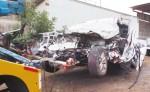 Hasta el momento se desconocen las causas del accidente de tránsito  que dejó un muerto y varios heridos en la Carretera Panamericana, en Condega. LA PRENSA/R.MORA