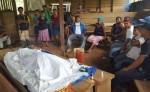 Herlinda Ignacio murió en el hospital de Bonanza.  Deja en la orfandad a un varón y cinco niñas. LA PRENSA/J.GARTH.