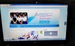 El sitio web del Ministerio de Educación  fue actualizado, pero  todavía no dispone de las estadísticas sobre el estado escolar de Nicaragua. LA PRENSA/ J. CASTILLO