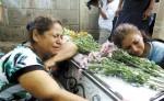 Doña Karla Torres, madre de la joven asesinada Xiomara Cruz Torres, de 23 años.LA PRENSA/Archivo