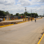 Prolongación de Pista Larreynaga ya está abierta