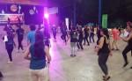 Bailatón organizado el año pasado  por FLESNIC en el gimnasio del Colegio La Salle un saltaton.  LA PRENSA/Archivo