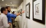La colección Los Caprichos de Goya  reúne ochenta grabados y se exhibirá en el Centro de Arte de la Fundación Ortiz Gurdián hasta diciembre, y a partir de enero del 2017 en el Centro de Arte en León. Entrada gratis.  LAPRENSA/YADER FLORES