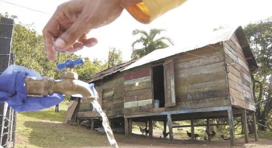 Cooperación española lleva agua y saneamiento en comunidades