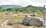 El Parque de Ferias Municipal  está en la primera etapa  de construcción en Boaco. LA PRENSA/M.RODRÍGUEZ