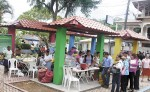 Las fiestas patronales y por los aniversarios  en el municipio de San Ramón, Matagalpa, incluyeron la comercialización de diversos rubros en la nueva Plaza de Ferias. LA PRENSA/L.E. MART͍NEZ M.
