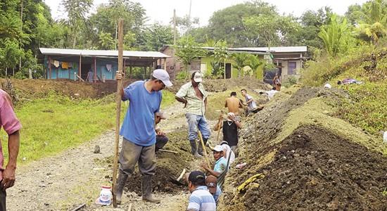 Agua llega a pocos pobladores en Siuna