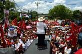 Hondureños marchan contra la reelección presidencial