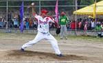Róger Marín lanzó juego completo de siete inning y llegó a 15 triunfos en la temporada,  para asumir el liderato en este rubro en el Campeonato Nacional de Beisbol Superior. LA PRENSA/ JOSÉ GARTH