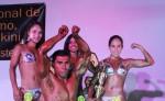 Belkis Rueda, Yuri Galeano, Jorge Martínez y Alejandra Escorcia, fueron los protagonistas del Campeonato Nacional de Físicoculturismo Guido-Estelí. LA PRENSA/CORTESÍA/JUAN MEMBREÑO