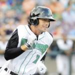 Alex Blandino robó el home plate en las Ligas Menores