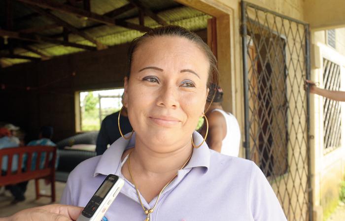 Rosibel Castillo Mendoza, concejal sandinista de El Tortuguero. LA PRENSA/ROBERTO FONSECA