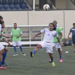 Selección de Futbol queda sin goles San Cristóbal y Nieves en amistoso