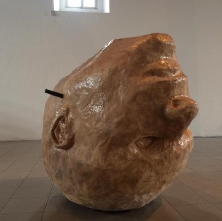 Obra de Patricia Belli expuesta durante la X Bienal Centroamericana de Arte en Costa Rica.LA PRENSA/CORTESÍA DE MARCOS AGUDELO.