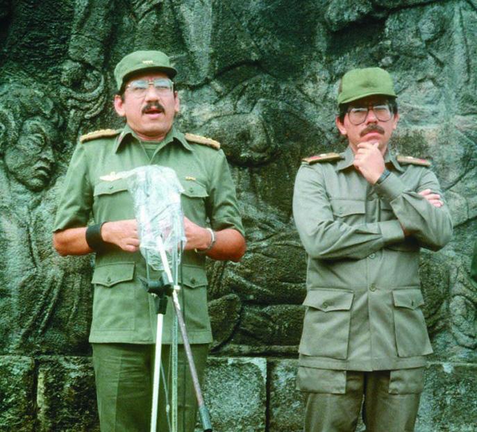 Humberto Ortega, Daniel Ortega