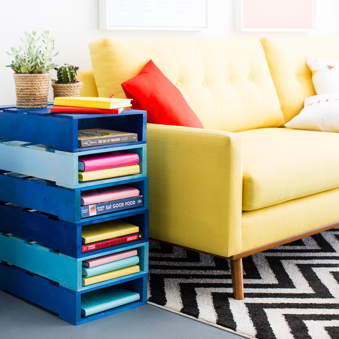 Polines son una excelente opci n para elaborar sus propios for Como se hacen muebles con palets