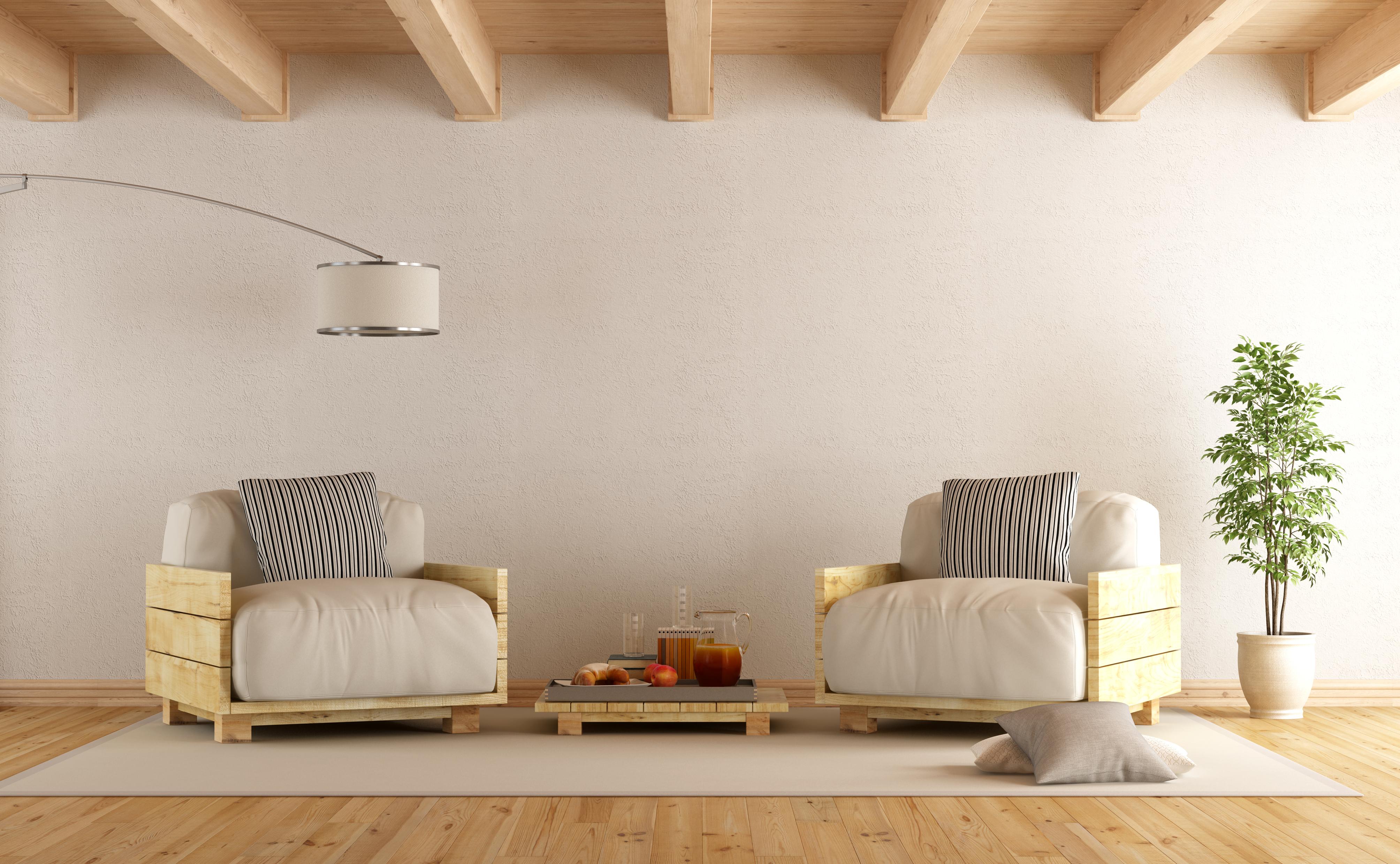 Polines son una excelente opci n para elaborar sus propios muebles la prensa - Idee per arredare casa con poco ...