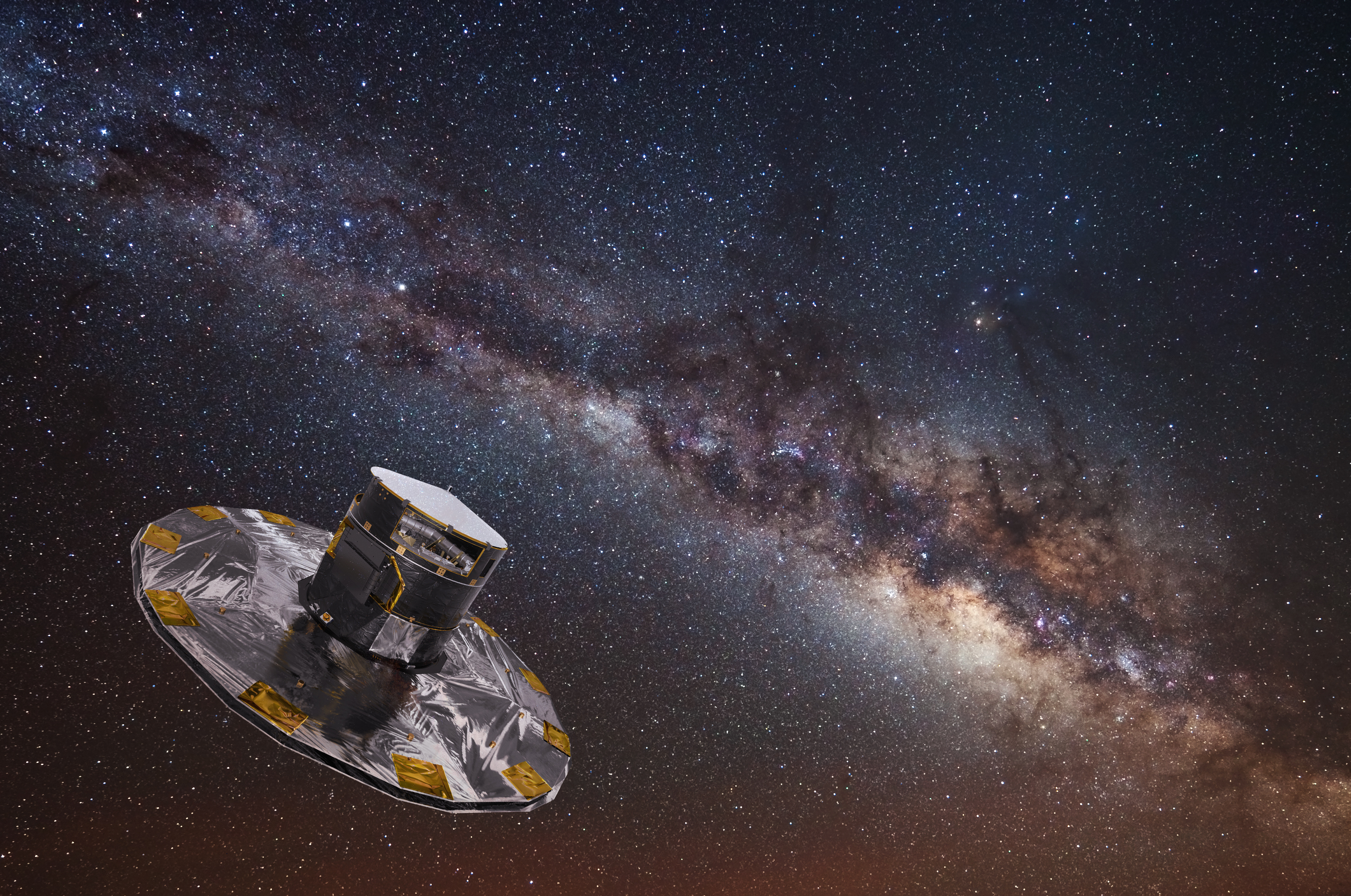 gaia spacecraft milky way map - photo #4