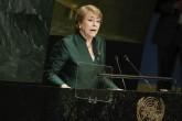 Bachelet le pide a la ONU mayor eficacia en su gestión