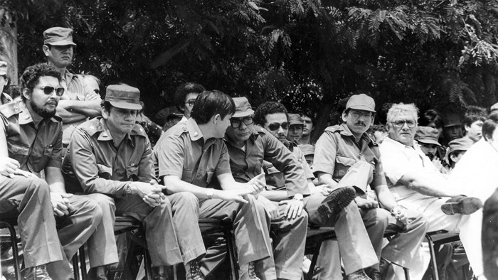 Comandantes sandinistas. LA PRENSA/Archivo