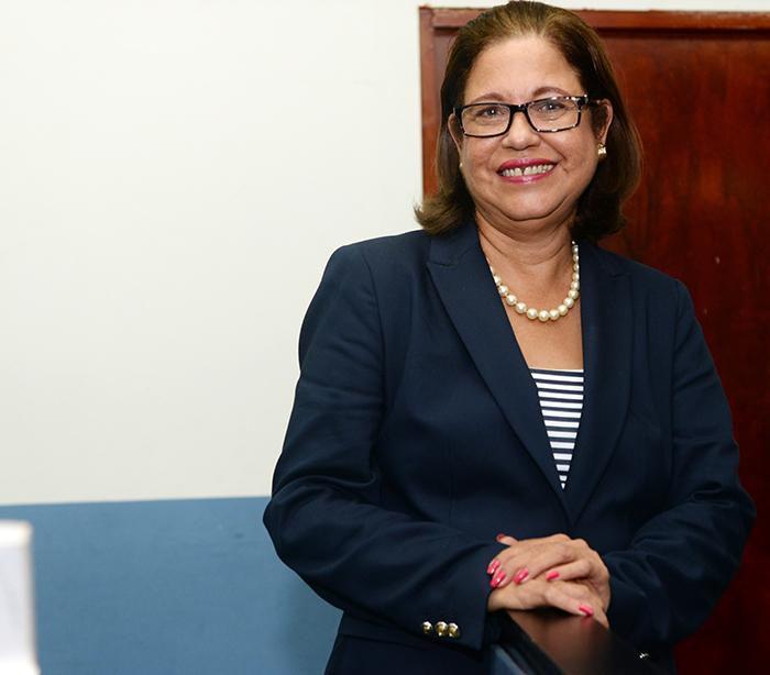 Violeta Granera, excandidata a la vicepresidencia y defensora de derechos humanos Mangua 22 de septiembre del 2016 foto LA PRENSA/Manuel Esquivel