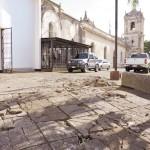 Inician las obras en parroquia Santiago en Jinotepe
