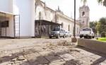 La parroquia Santiago  en Jinotepe será restaurada con el apoyo de la feligresía. LA PRENSA/M. GARCÍA