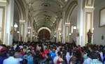 Las Fiestas Patronales en honor de la Virgen de La Merced que arrancaron con una misa en la Catedral San Pedro Apóstol. LA PRENSA/LUIS E. MARTÍNEZ
