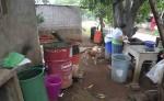 Los habitantes del barrio indígena de Monimbó  pasan serios aprietos para conseguir agua y así solventar las necesidades de sus hogares. Este  barrio es el más grande de la ciudad de Masaya. LA PRENSA/N. GALLEGOS