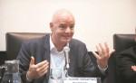 Gianni Infantino, presidente de la FIFA, bajo fuertes críticas