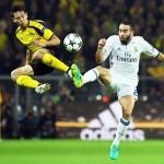 Dortmund y Madrid empatan en intenso duelo de Champions