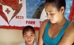 Sonia del Carmen Gómez Sánchez y su niña son originarias  de la  comunidad El Naranjo, del municipio de Somoto.  LA PRENSA/W. ARAGÓN