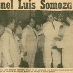 El día que Luis Somoza Debayle se convirtió en presidente de Nicaragua