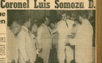 Así contó LA PRENSA del 30 de Septiembre de 1956 el día que Luis Somoza Debayle fue proclamado como Presidente Constitucional de la República de Nicaragua. LA PRENSA/ARCHIVO/REPRODUCCIÓN