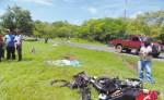 La peor parte de estos accidentes la llevan los motorizados.  La Policía hace un llamado a respectar las leyes de tránsito para que no sigan ocurriendo más tragedias.  LA PRENSA/ARCHIVO/R.VILLARREAL