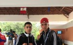 Rommel Caballero avanzó a semifinal y Hazael Reyes se quedó ahí. LAPRENSA/ CORTESÍA