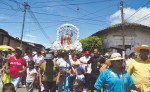 Las fiestas de San Miguel Arcángel, en Masaya,  siempre se viven de forma muy ordenada, gracias a la organización de su cofradía.  LA PRENSA/N.GALLEGOS