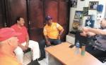 Luis Fierro, Ernesto López, Juan Cabrera y Nemesio Porras, cuatro artilleros de impacto en el beisbol nacional.  LA PRENSA/CORTESÍA/GUILLERMO SÁNCHEZ