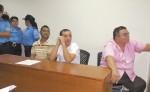 Róger Fletes Acevedo, Douglas Váldez Rodríguez y Deglis Omar Martínez fueron acusados de crimen organizado, estafa agravada y falsos documentos en contra de la Procuraduría General de la República. LA PRENSA/ ARCHIVO