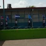 Himno Nacional de Nicaragua se cantó en escuelas ticas