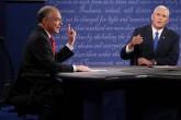 Aspirantes a vicepresidencia de Estados Unidos en debate