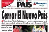 Editor dice que Maduro busca cerrar su diario