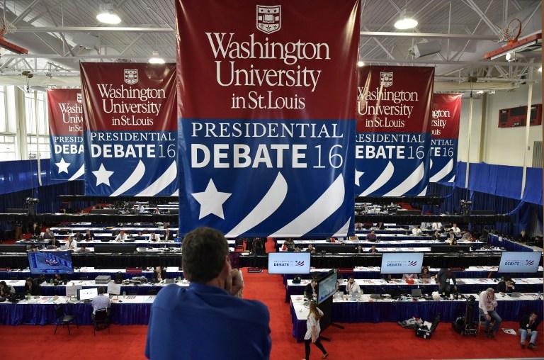 debate entre Clinton y Trump, Hillary Clinton, Donald Trump