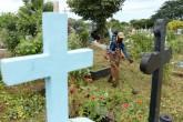 Alcaldía de Managua limpia cementerios en víspera del Día de los Difuntos