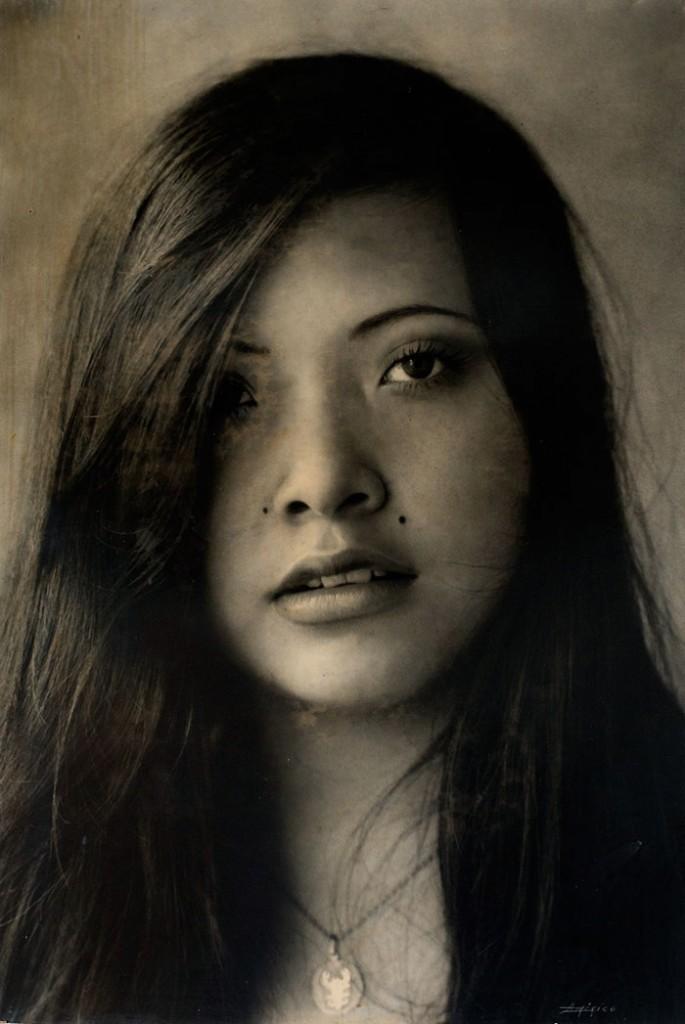 Retrato de Arlen Siu, por Américo González.