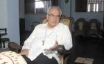 Monseñor Bosco Vivas,  vicepresidente  de la Conferencia Episcopal. LA PRENSA/ R. FONSECA